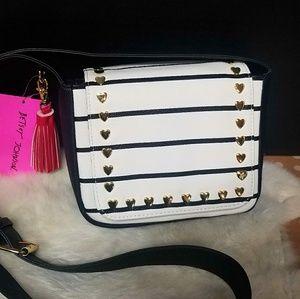 Betsey Johnson Mini Saddle Bag NWT